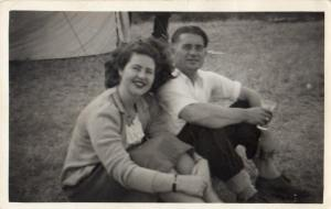 My beautiful grandparents (1949, the year they were married)